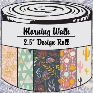 2963 morning walk 25 inch design roll