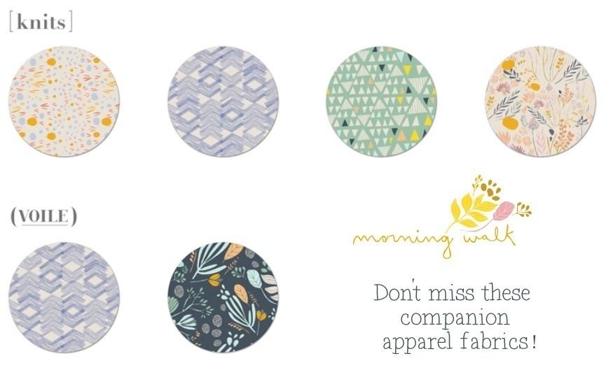 Morning Walk Apparel Fabrics