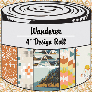 2956 wanderer 4 inch design roll