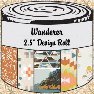 2958 wanderer 25 inch design roll