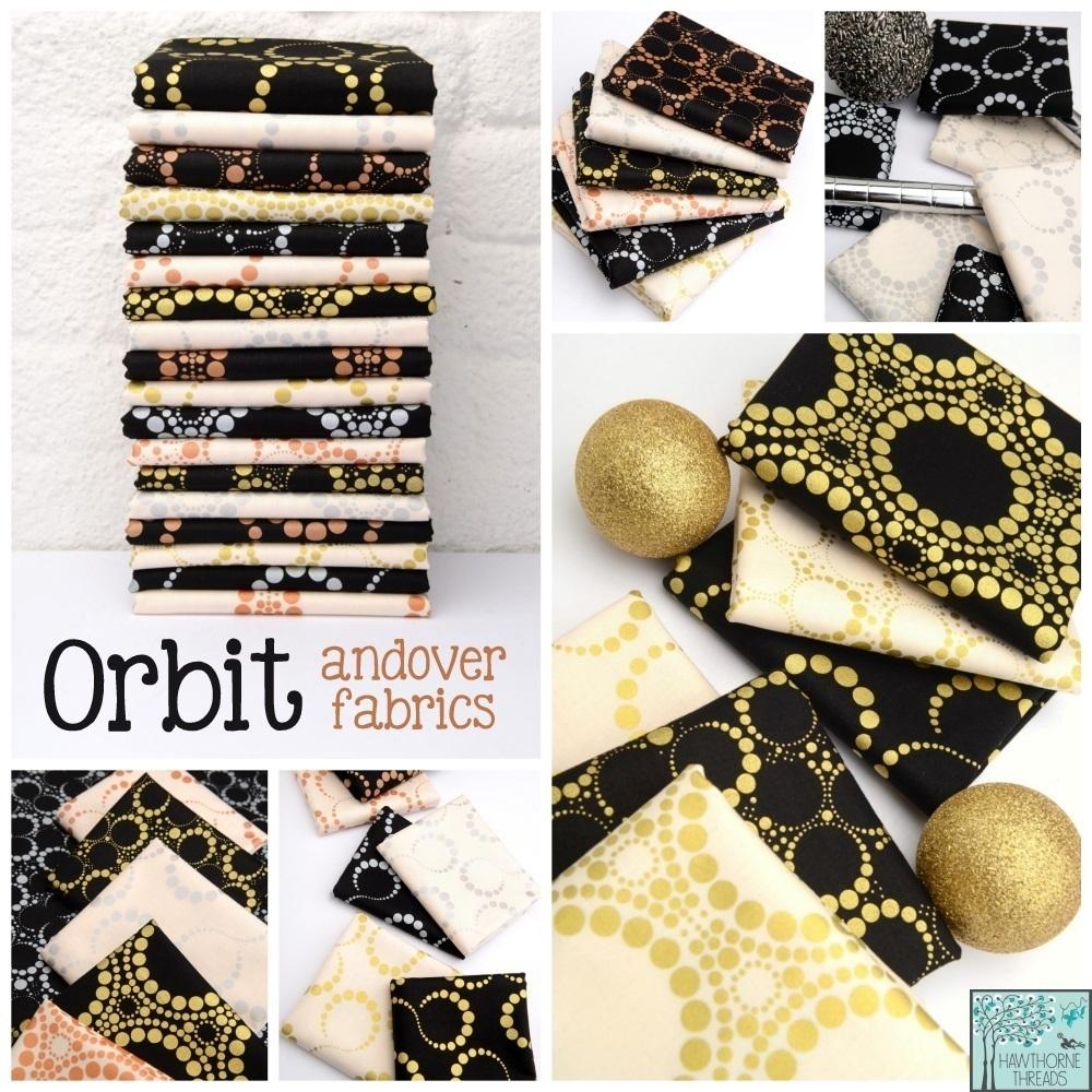Orbit Fabric Poster