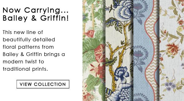 Bailey and Griffin Influences PrintsFloral Fabric Collection