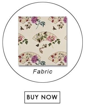 G P   J Baker FENTON PINKCREAM Fabric