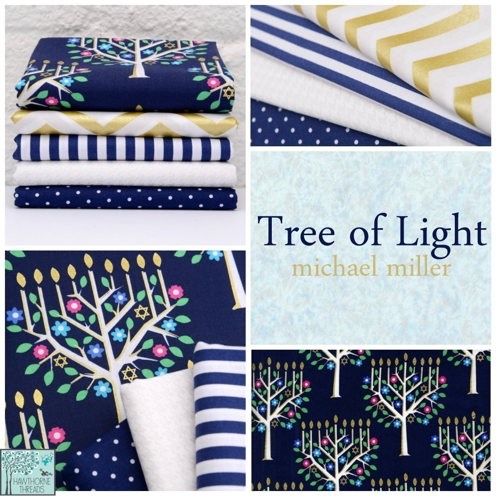 Tree of Light Fabric Poster