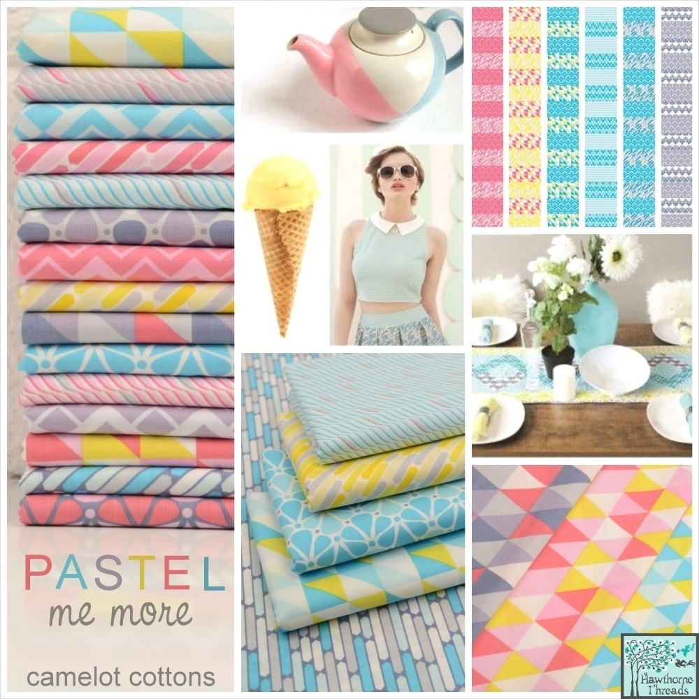 Pastel Me More Fabric Poster