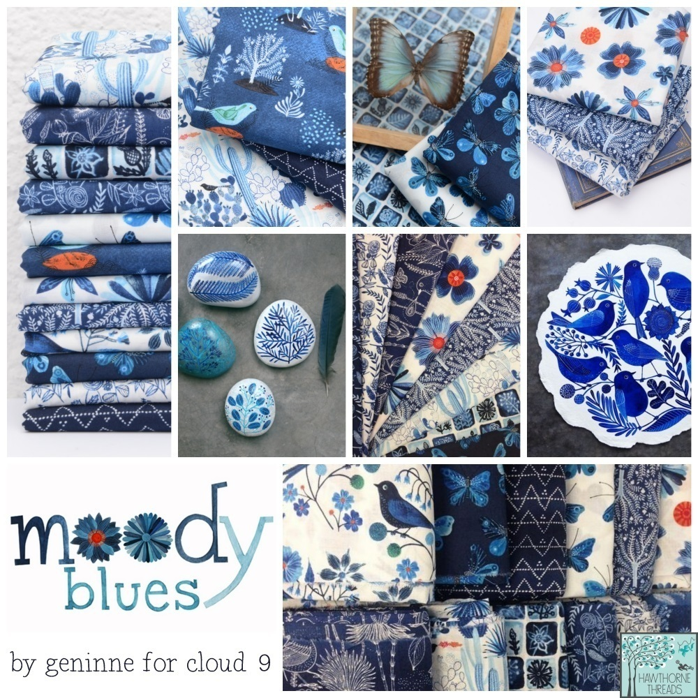 Moody Blues Fabric Poster