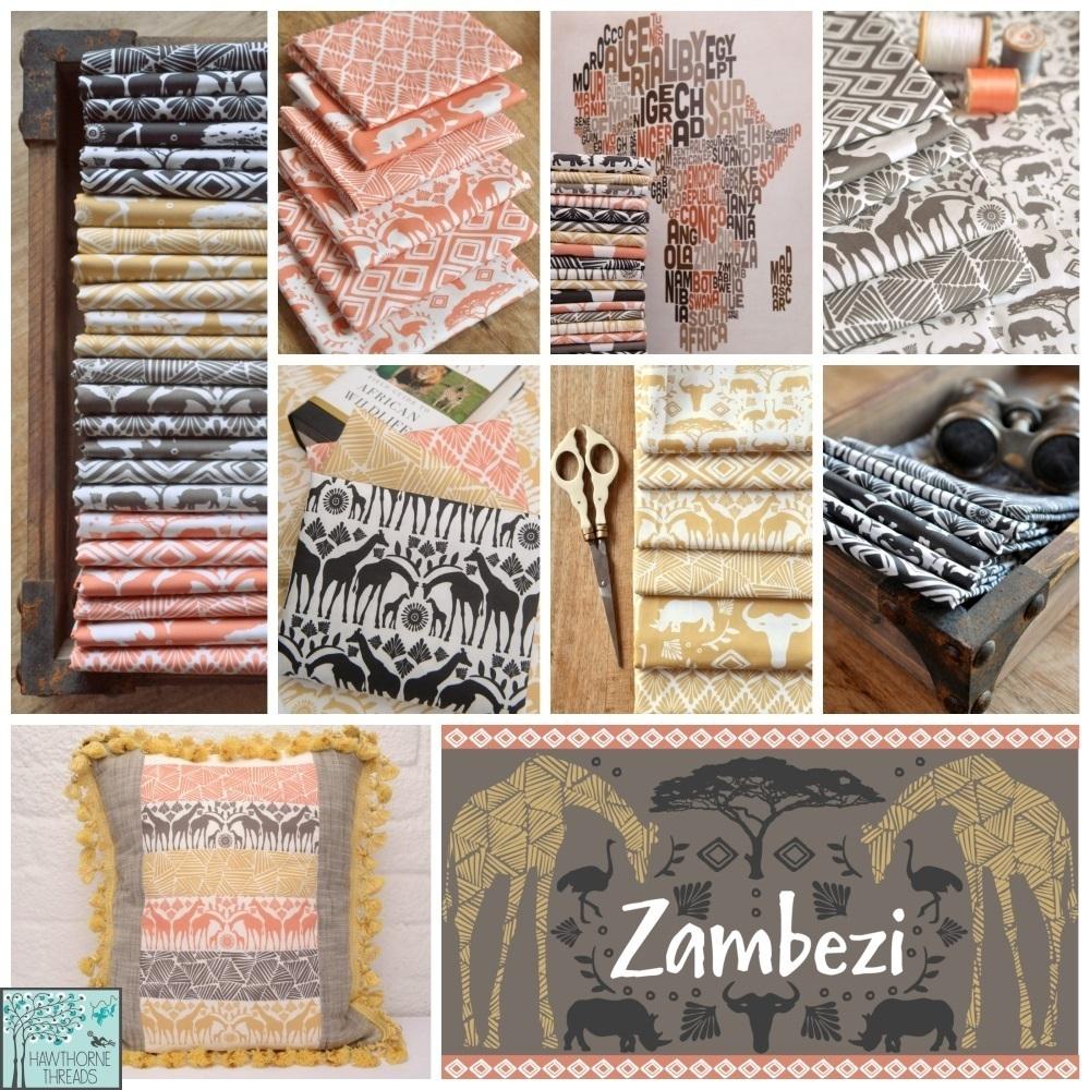 Zambezi Fabric Poster