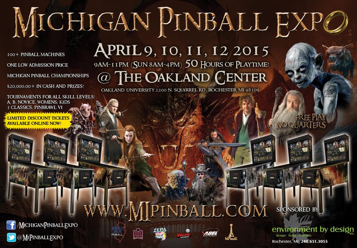 Pinball Expo 2015 poster 12