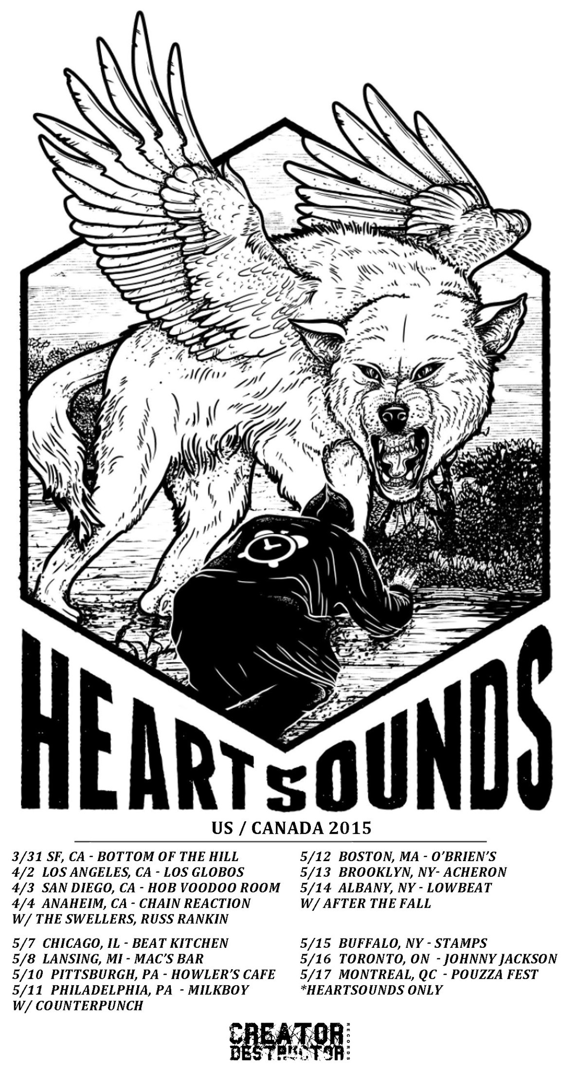 heartsounds tour poster