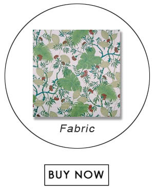 Scalamandre Malibu Tropical Greens Fabric