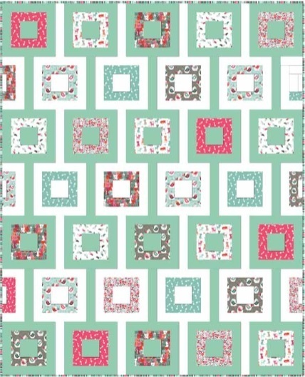 Cats Fabric Quilt