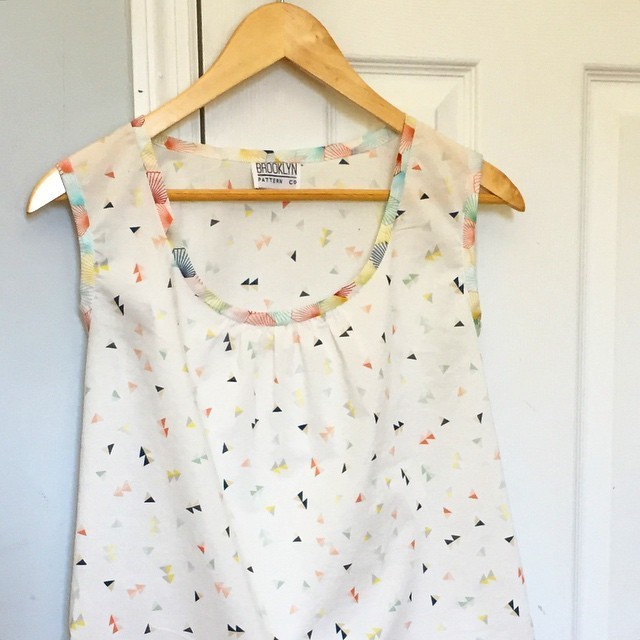 Brooklyn Pattern Co with Simplicity pattern
