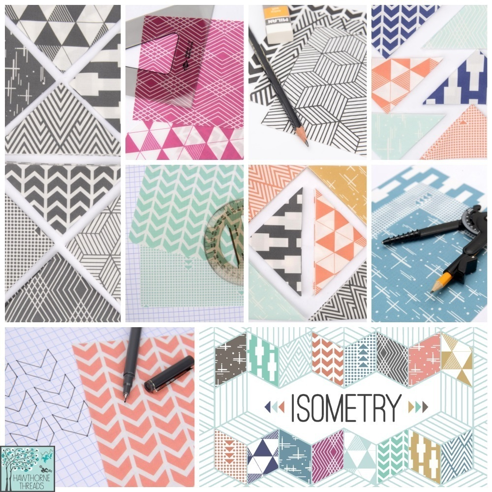 Isometry Fabic Poster