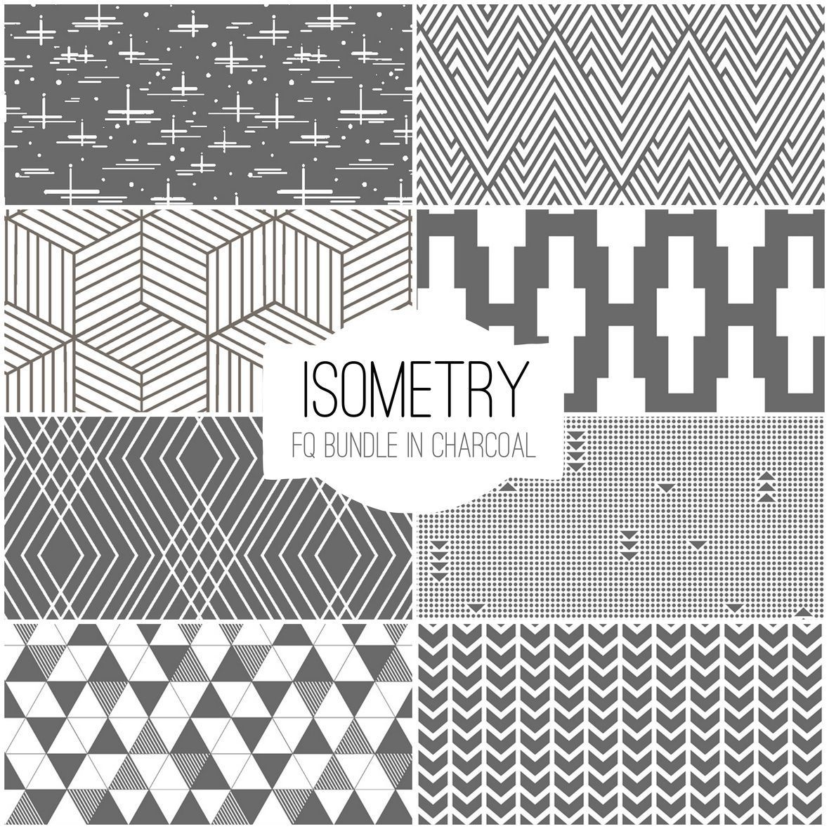 Isometry in Charcoal