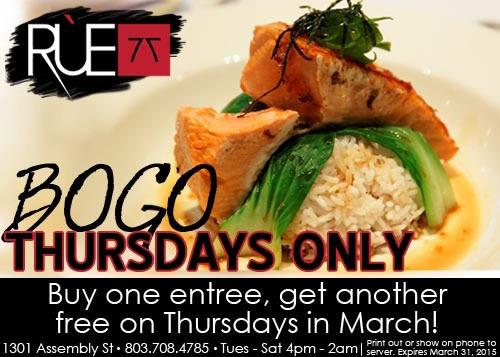 Rue 77 BOGO offer