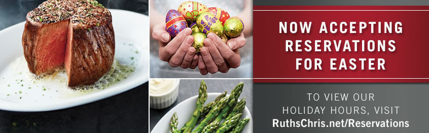 Ruth s Chris Easter Ad 2015