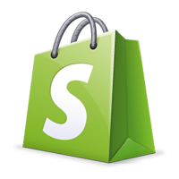 shopify bag logo