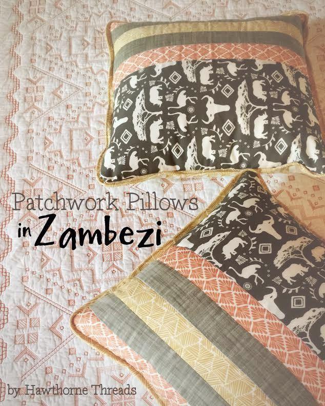 Hawthorne Threads Zambezi Fabric Pillow