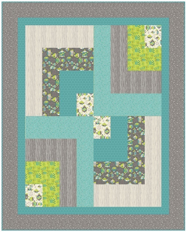 Sea-Life quiltbars from CC Blog