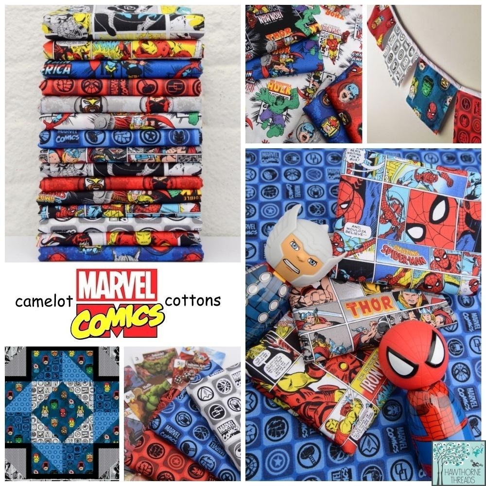 Marvel Comics Fabric Poster