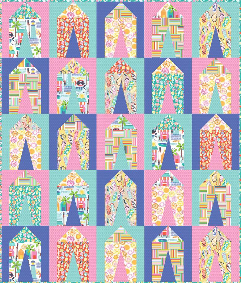 Sunsational Free Quilt Pattern