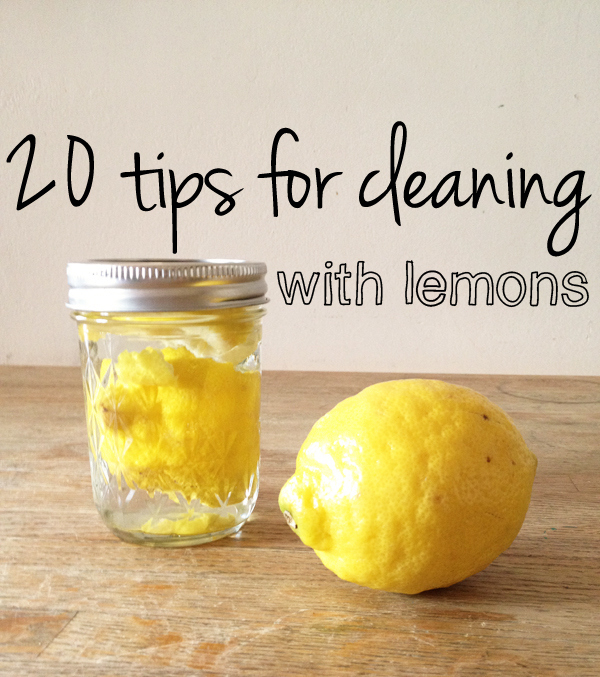 20-tips-for-DIY-green-cleaning-with-lemons