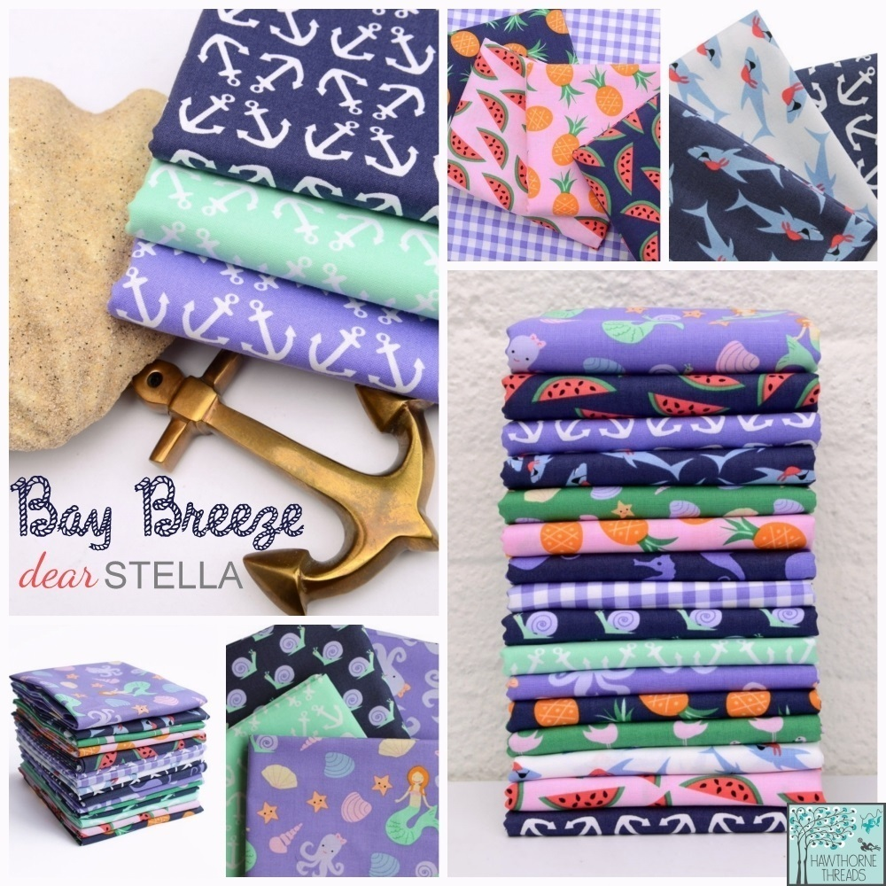 Bay Breeze Fabric Poster