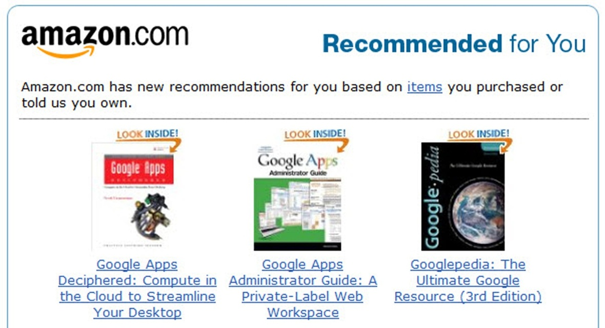 Amazon-personal-recommendations