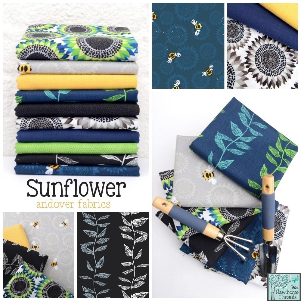 Sunflower Fabric Pposter