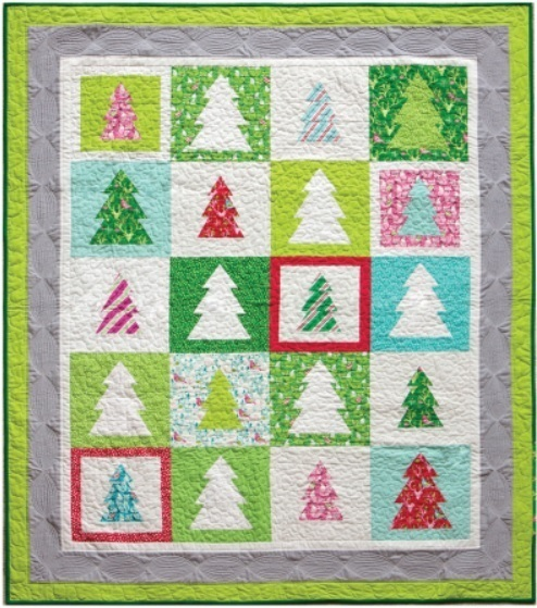 Festive Forest Quilt