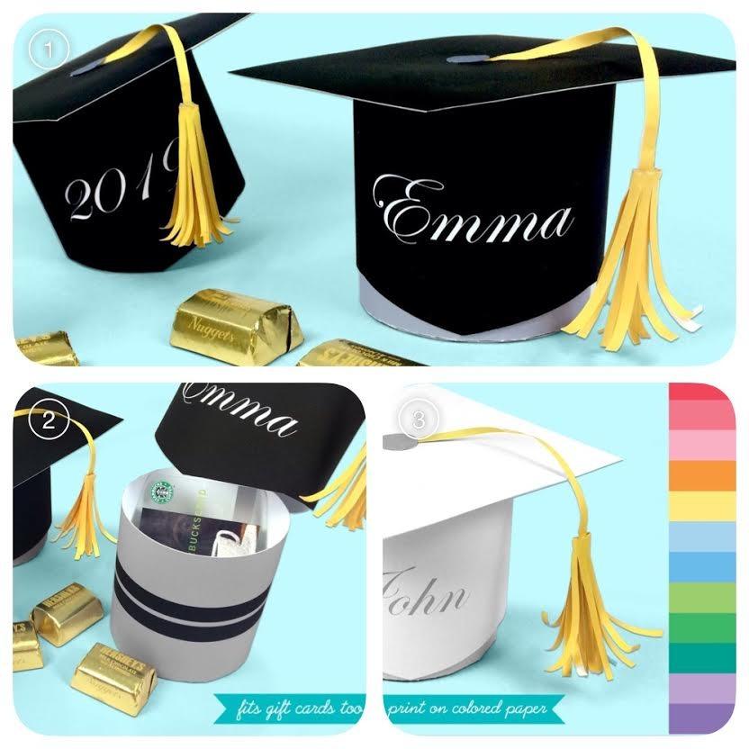 Graduation Hat Favor Bo