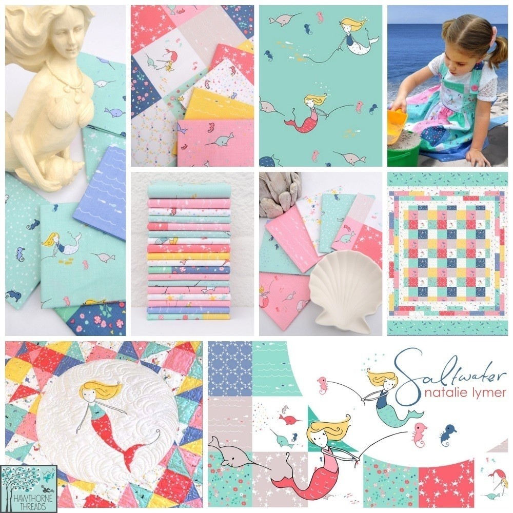 Saltwater Fabric Poster
