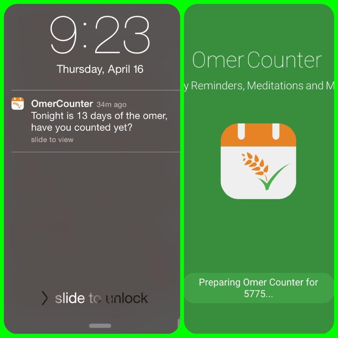 omercounter app