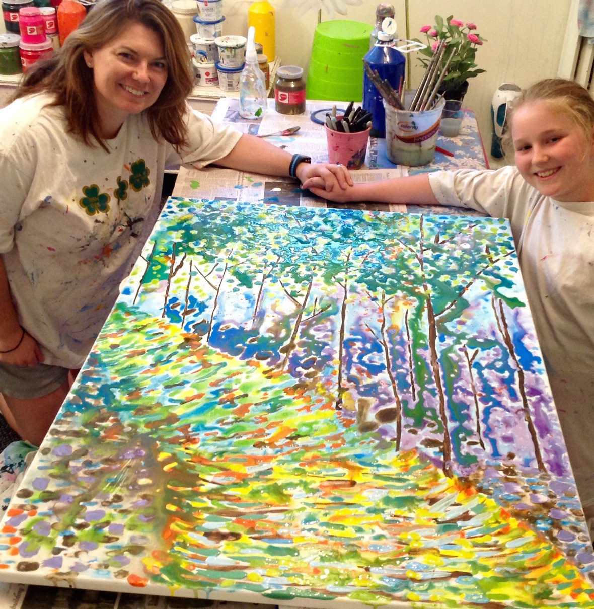 Mother Daughter Canvas S and E