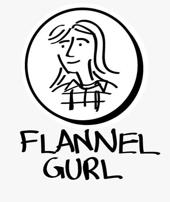 flannel gurl records logo