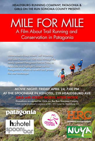 mile for mile poster flat