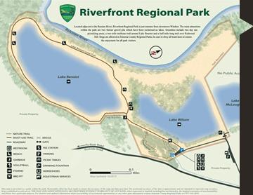 riverfont map