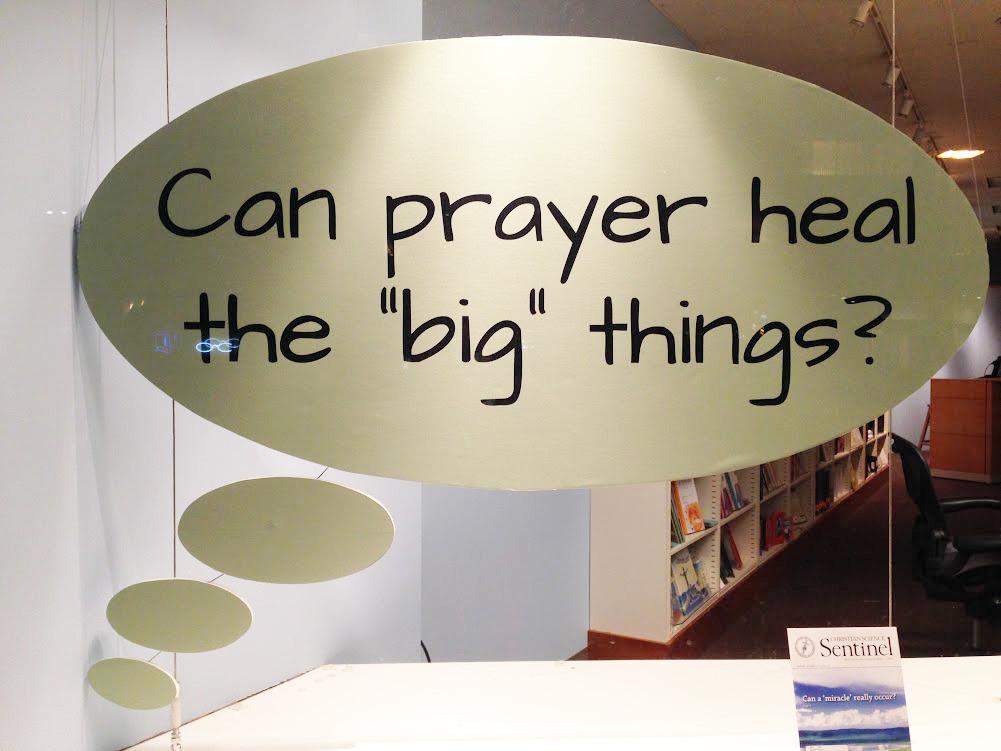 June Newsletter (Can prayer heal the
