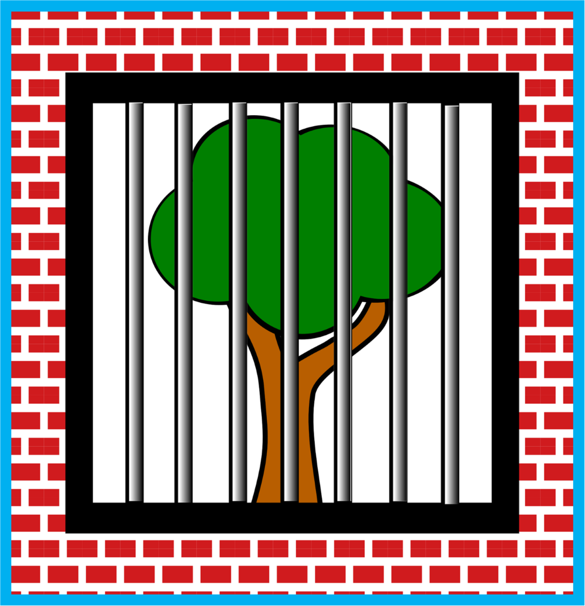 Green Tree Chopped Image