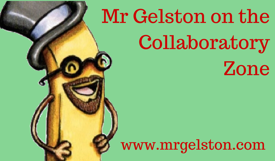 Mr Gelston on the Collaboratory Zone  1