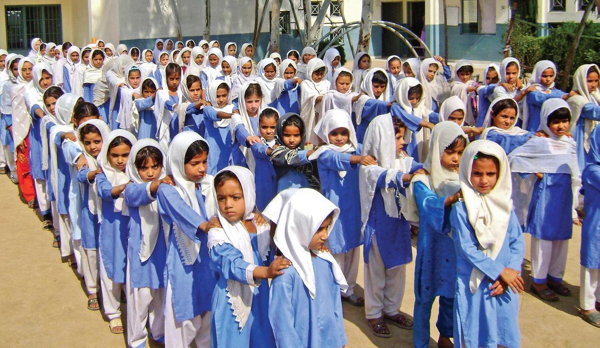 girls in uniform