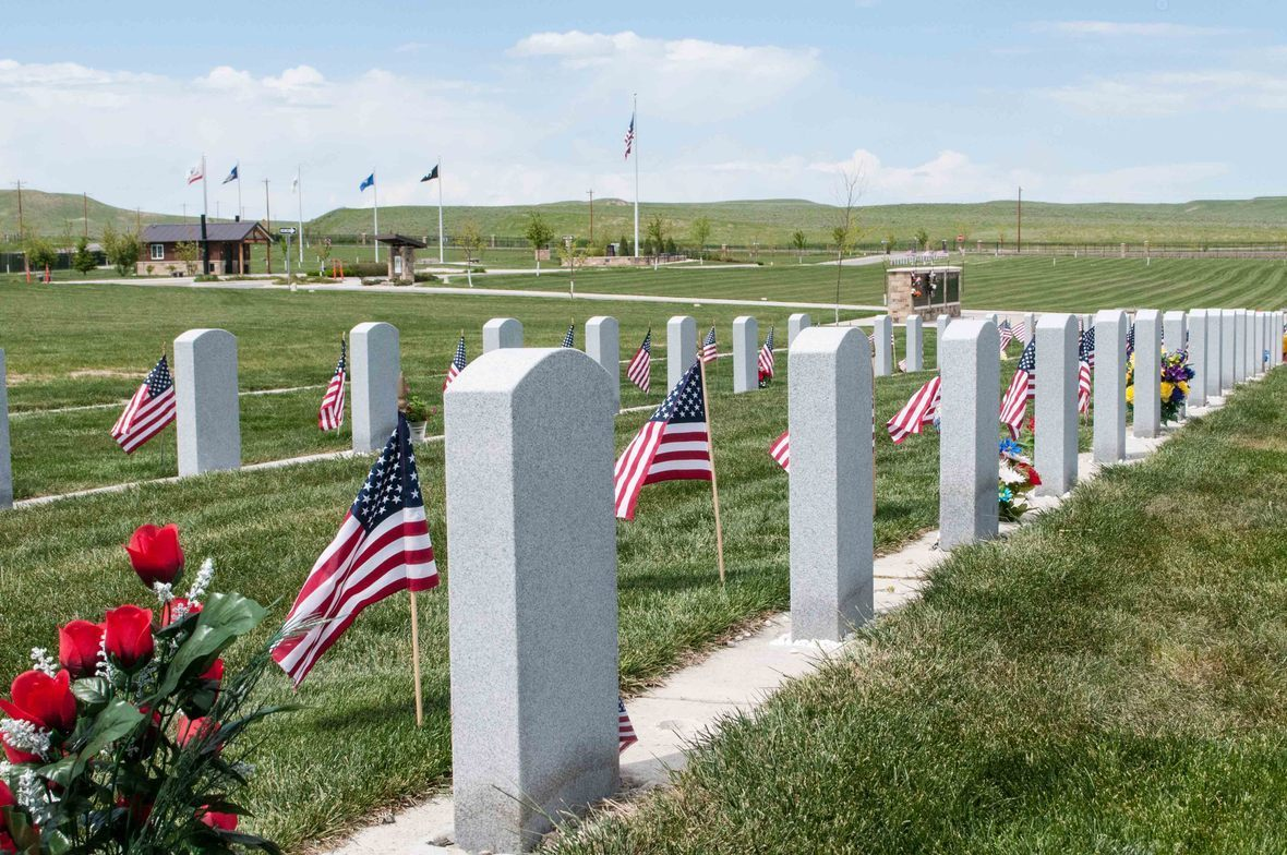 Yellowstone National Cemetery - Memorial Day 2014