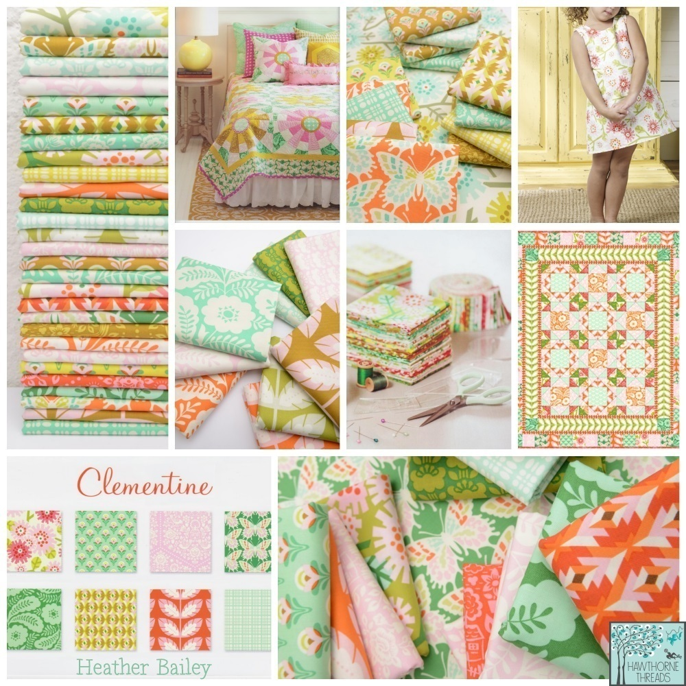 Heather Bailey Clementine Fabric Poster