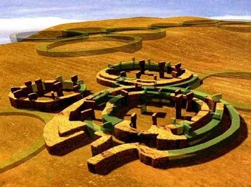 Gobekli Tepe Stone Circle City-