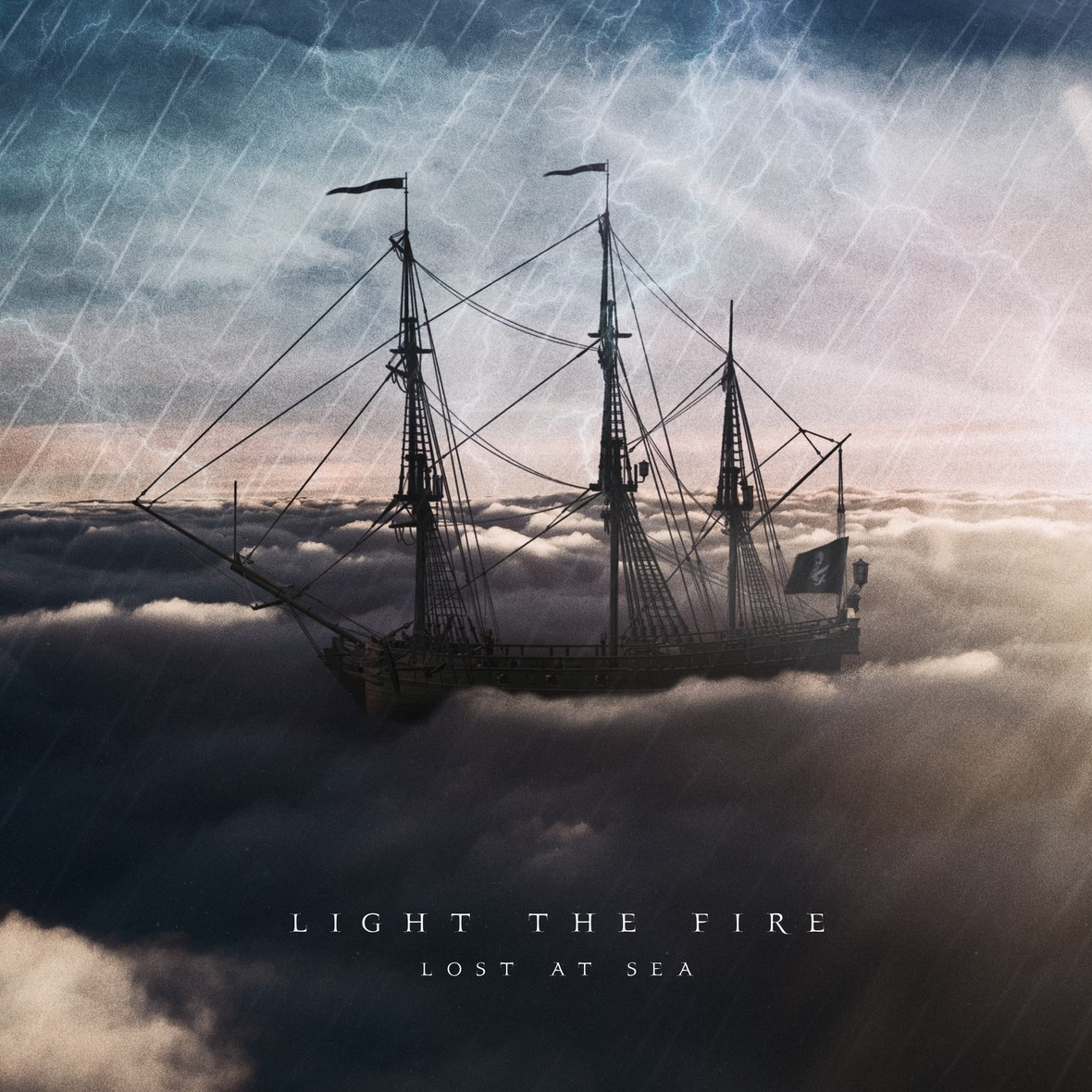 light the fire lost at sea cover art