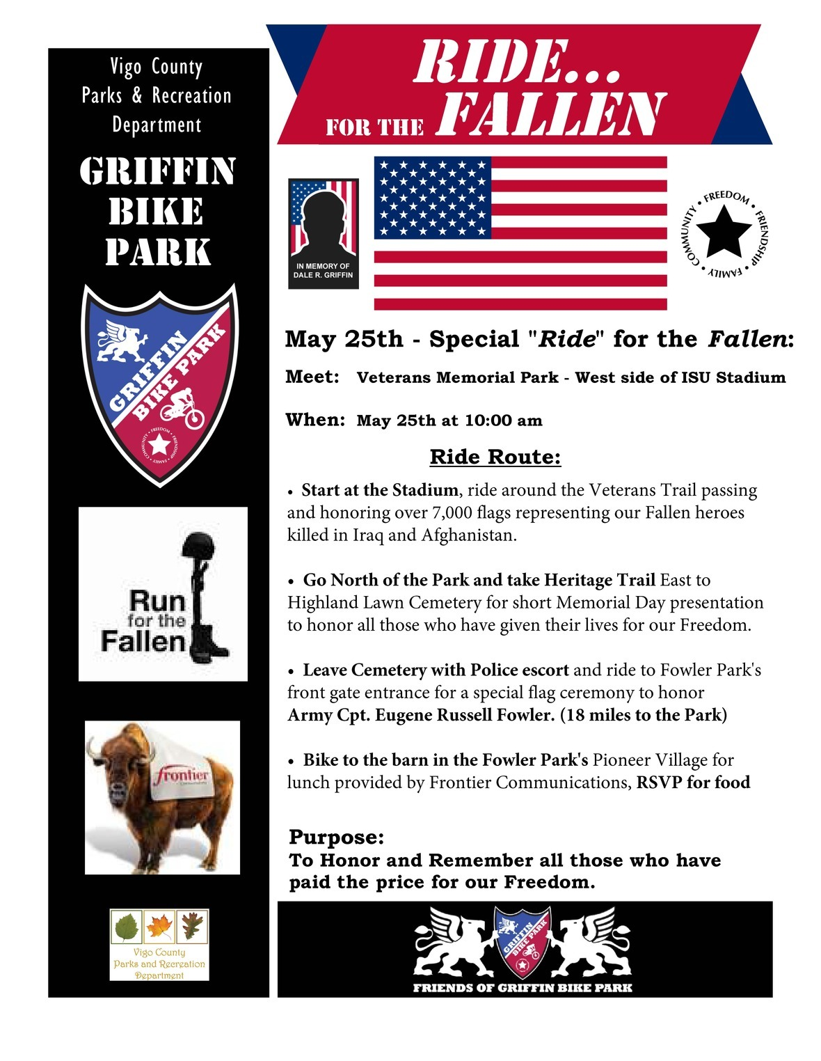 Ride For the Fallen 2015