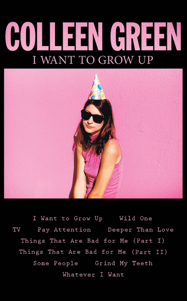 colleen green grow up cover