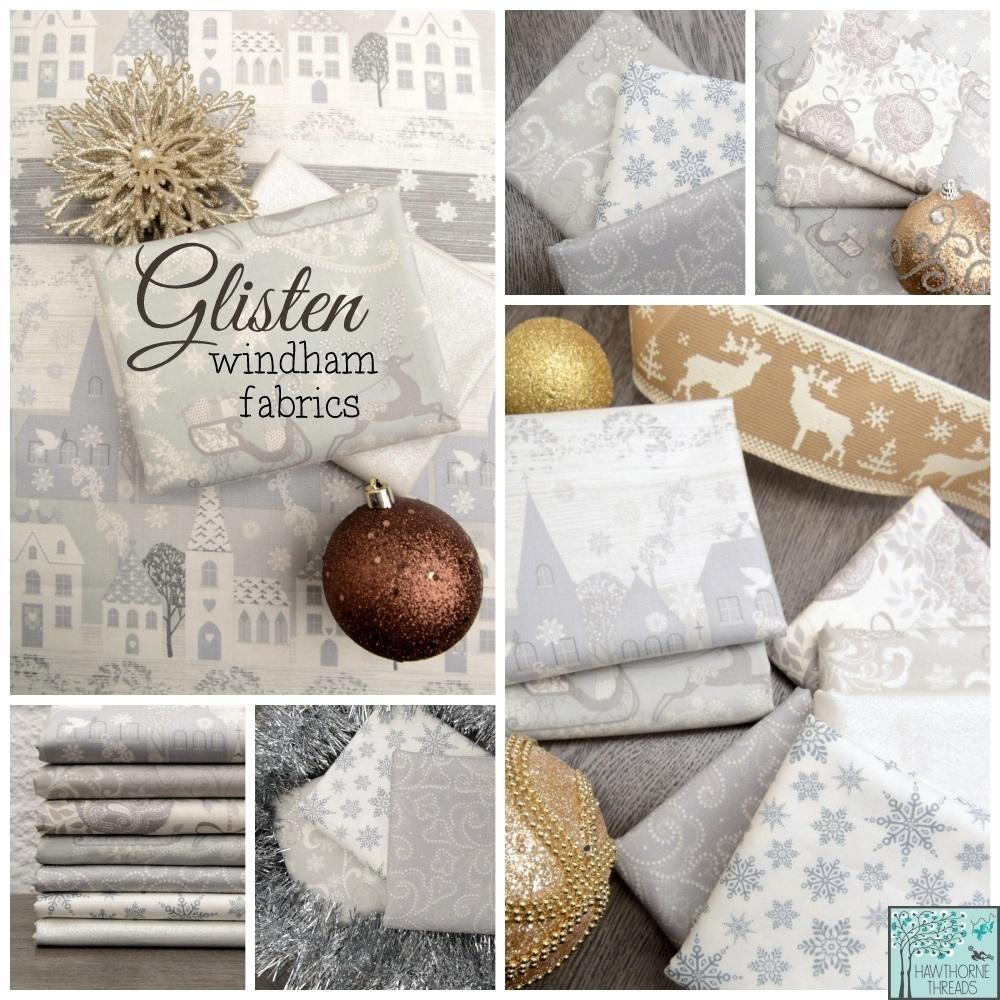 Glisten Fabric Poster