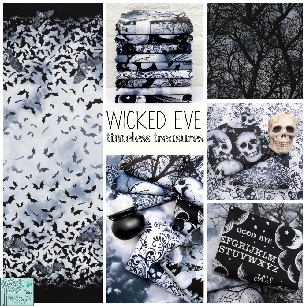 Wicked Eve Fabric Halloween Poster