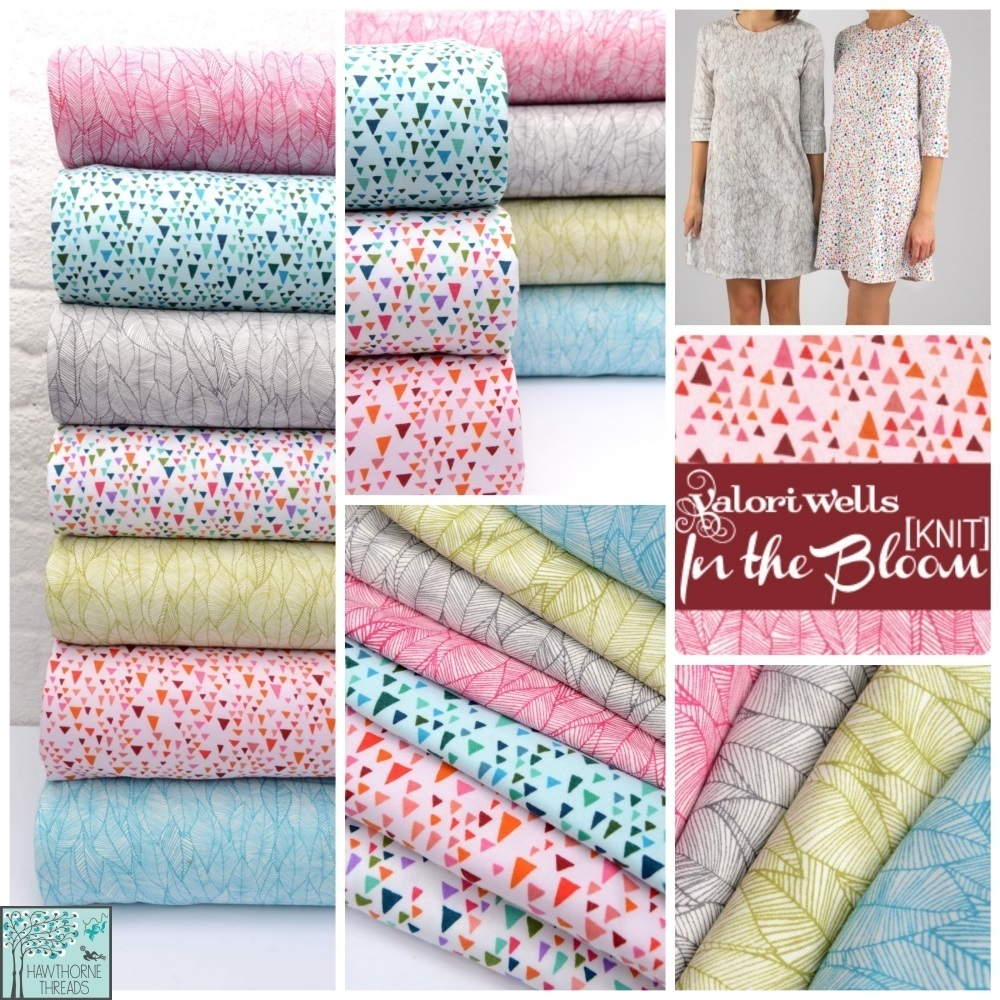 In the Bloom Knit Fabric pOster